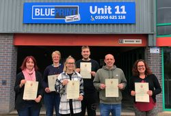 Our staff are IOSH Certified! image #1
