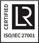 ISO IEC 27001 certified